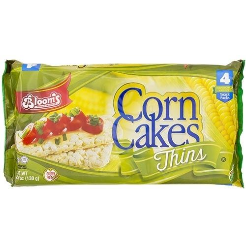 Kosher Corn Cakes Thins 4Pk