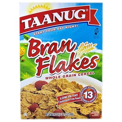 taanug bran flakes 17 3 oz breadberry com online kosher grocery